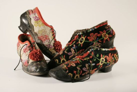 Traditional-women-shoes-Ethnographic-Museum-Zagreb